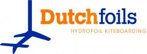 logo Dutchfoils_hydrofoil kiteboarding