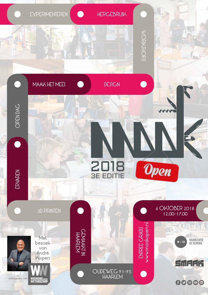 MAAK Open poster2018