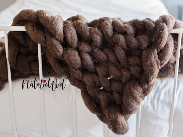 Woonplaid 100% wol